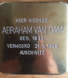 abrahamvan-dam-struikellsteen