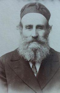 Mozes Spalter, vader van Abraham. Collectie J.A. Spalter.