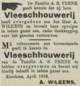 Zierikzeesche Nieuwsbode 11-4-1932.