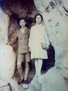 Lena en haar broer Dolf? Coll. A.M. Wilkens.