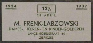 Zierikzeesche Nieuwsbode 23-4-1937.