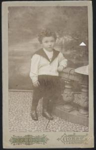 Henoch Labzowski, circa 1899. Joods Historisch Museum F009646.