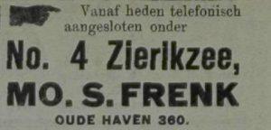 Zierikzeesche Nieuwsbode 17-9-1923.