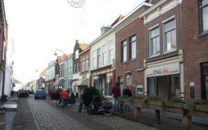 Lange Nobelstraat in 2016. Van de winkel is niets overgebleven. Foto J. Kroesen.