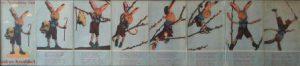 De Avonturen van Kobus Knabbel, een jeugdboek uit 1941/1942. Auteur: El Pintor, pseudoniem voor het kunstenaarsechtpaar Anna (Galinka) Ehrenfest (1910-1979) en Jacob Kloot (1916-1943). Collectie A.M. Wilkens.