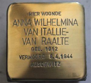 Anna Wilhelmina van Italie-van Raalte